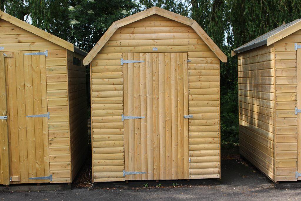 8ft x 6ft Dutch Barn